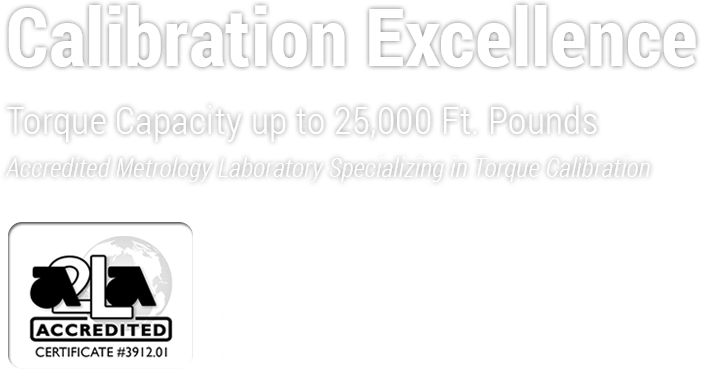 Accredited Mtrology Laboratory Specializing in Torque Calibration